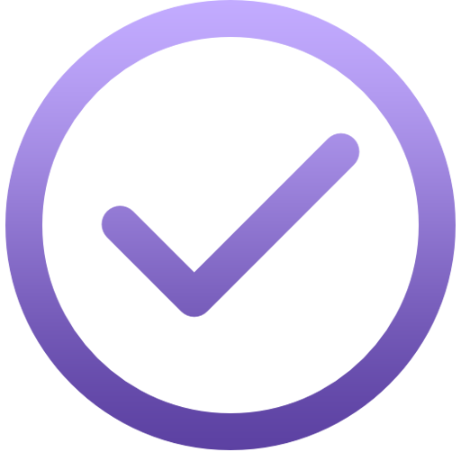 purple Service Center Appointment Confirmation service icon
